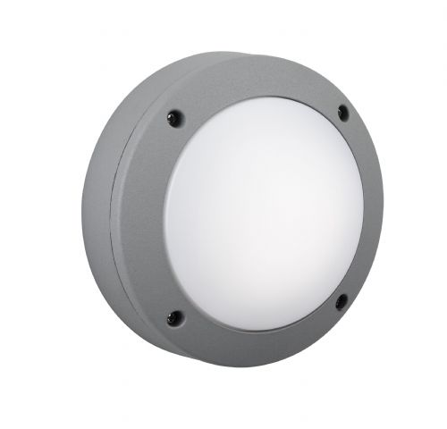 Firstlight 6086AL Aluminium with Frosted Glass Outdoor Wall Light